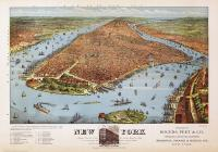 Manhattan Island New York 1879